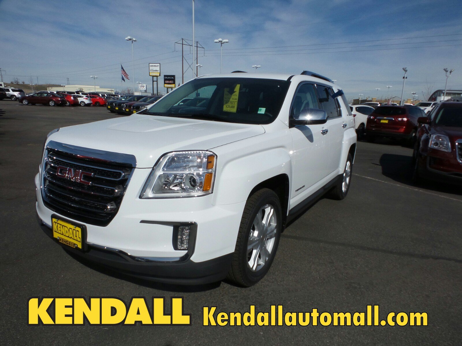 new 2017 gmc terrain slt awd in nampa 470524 kendall at the idaho center auto mall. Black Bedroom Furniture Sets. Home Design Ideas
