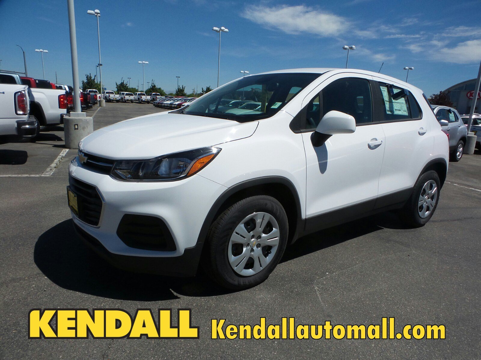 Lease a New 2017 Chevrolet Trax LS FWD