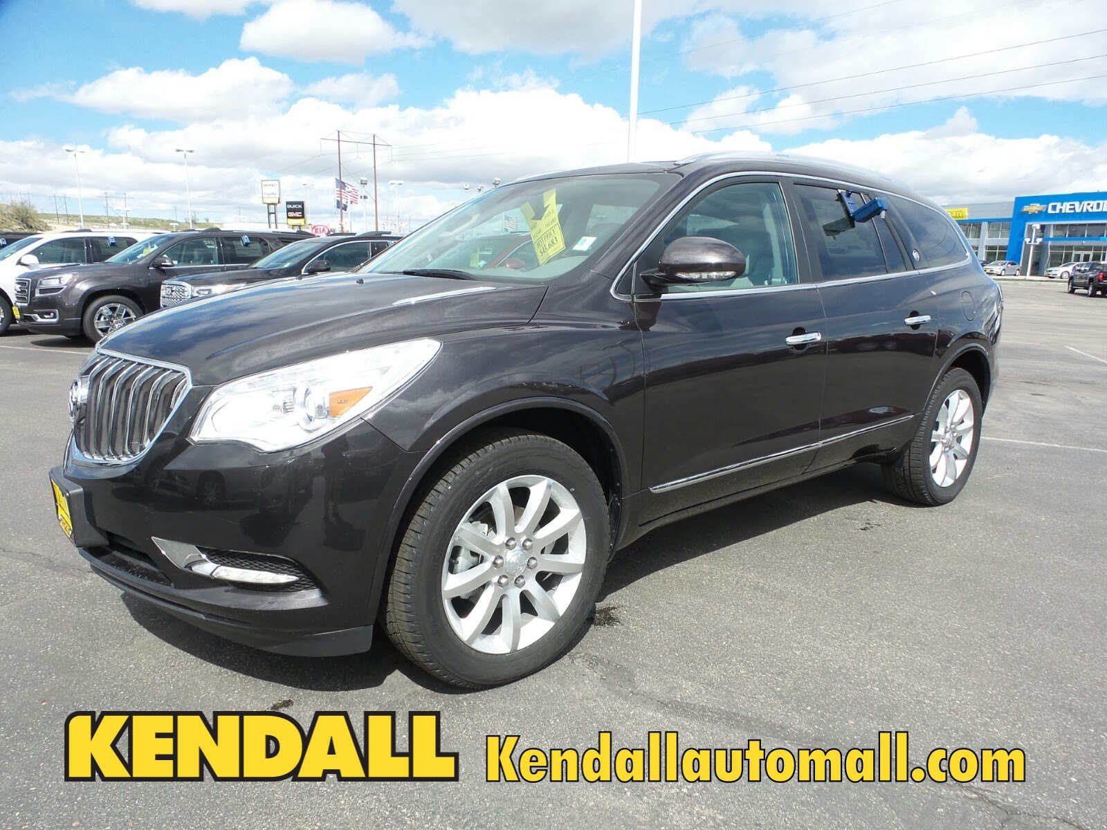 new 2017 buick enclave premium awd in nampa 67022 kendall at the idaho center auto mall. Black Bedroom Furniture Sets. Home Design Ideas