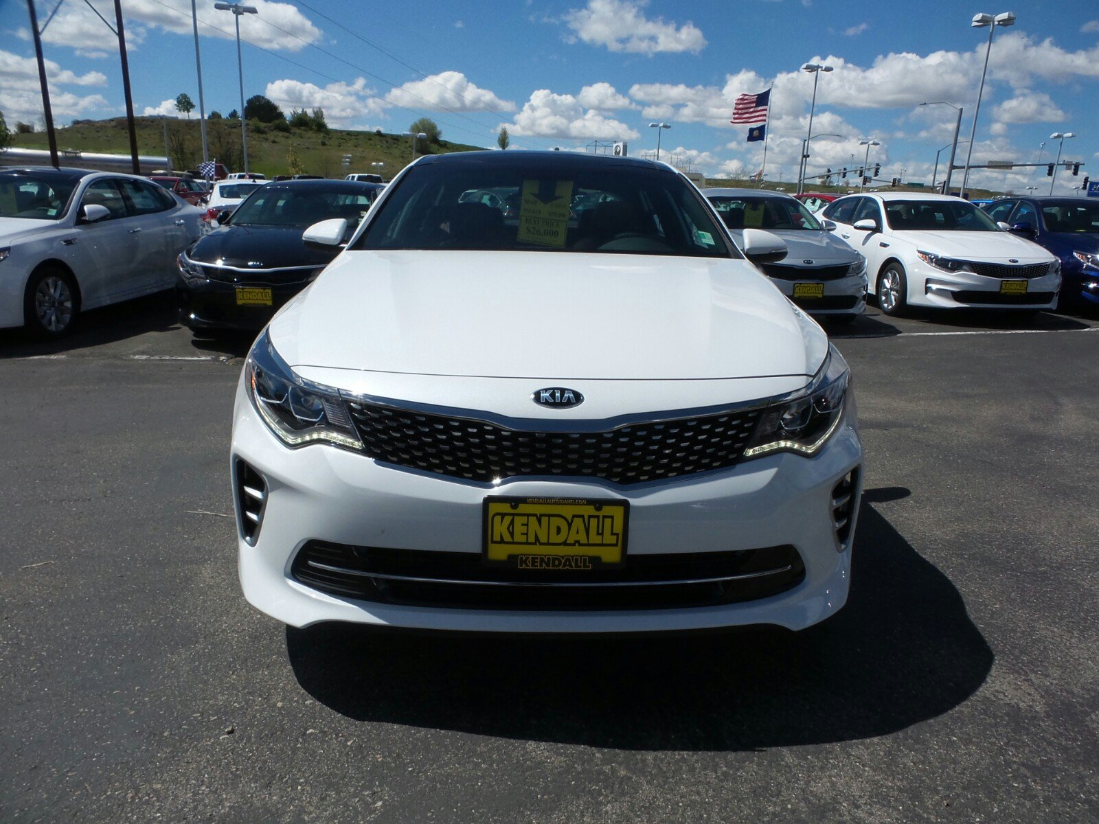 new 2017 kia optima sx in nampa 970554 kendall at the idaho center auto mall. Black Bedroom Furniture Sets. Home Design Ideas