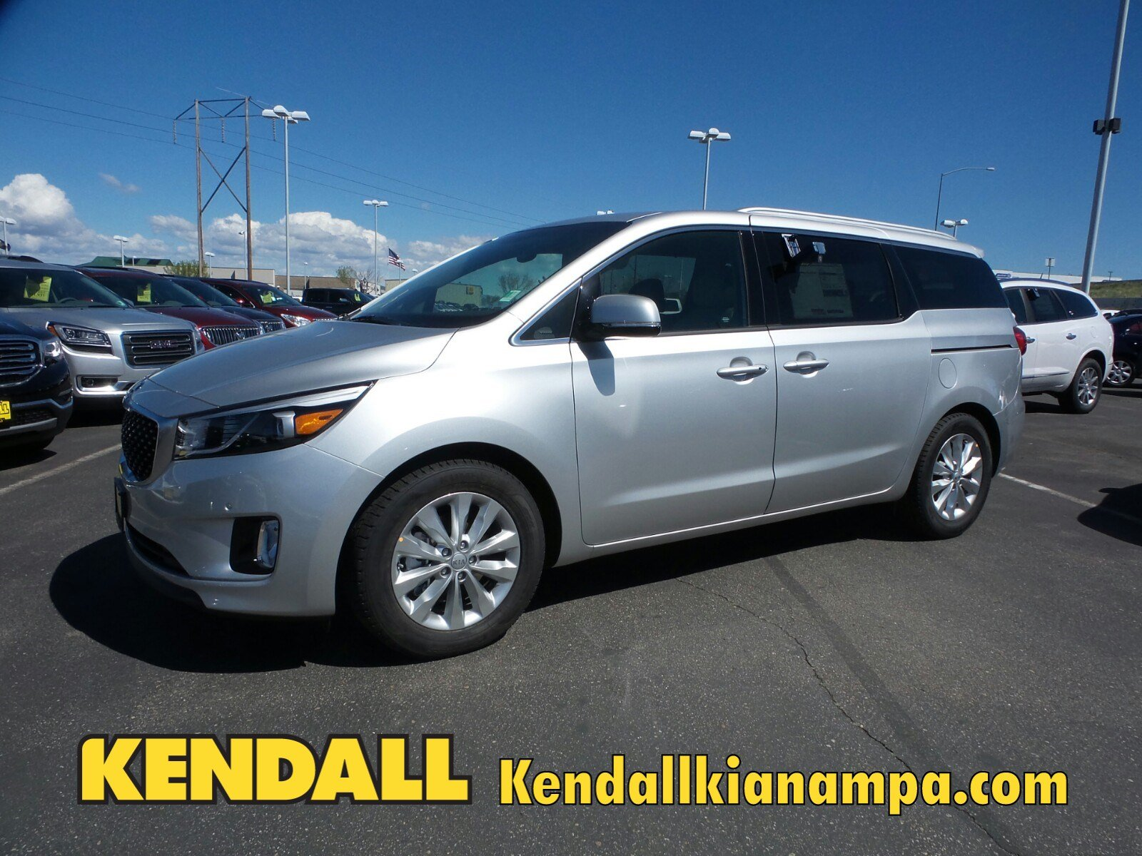 Lease a New 2017 KIA Sedona EX