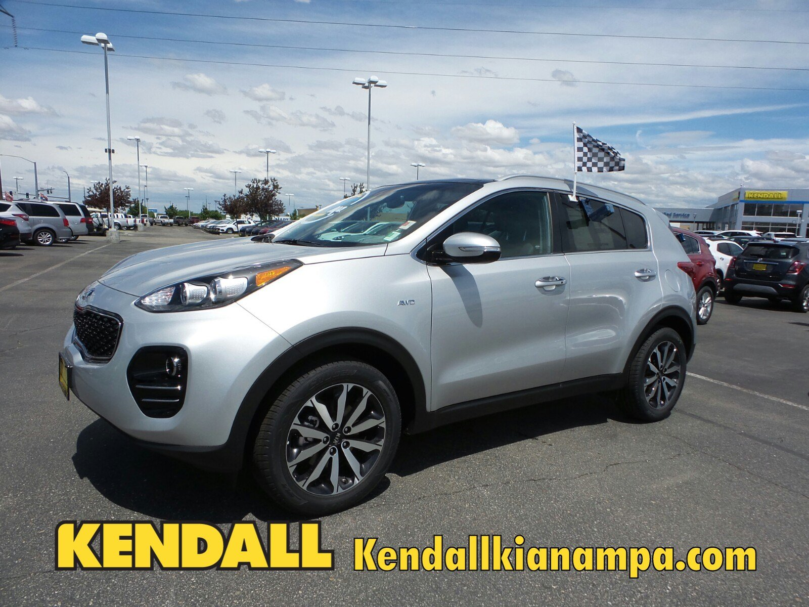 Lease a New 2017 KIA Sportage EX AWD