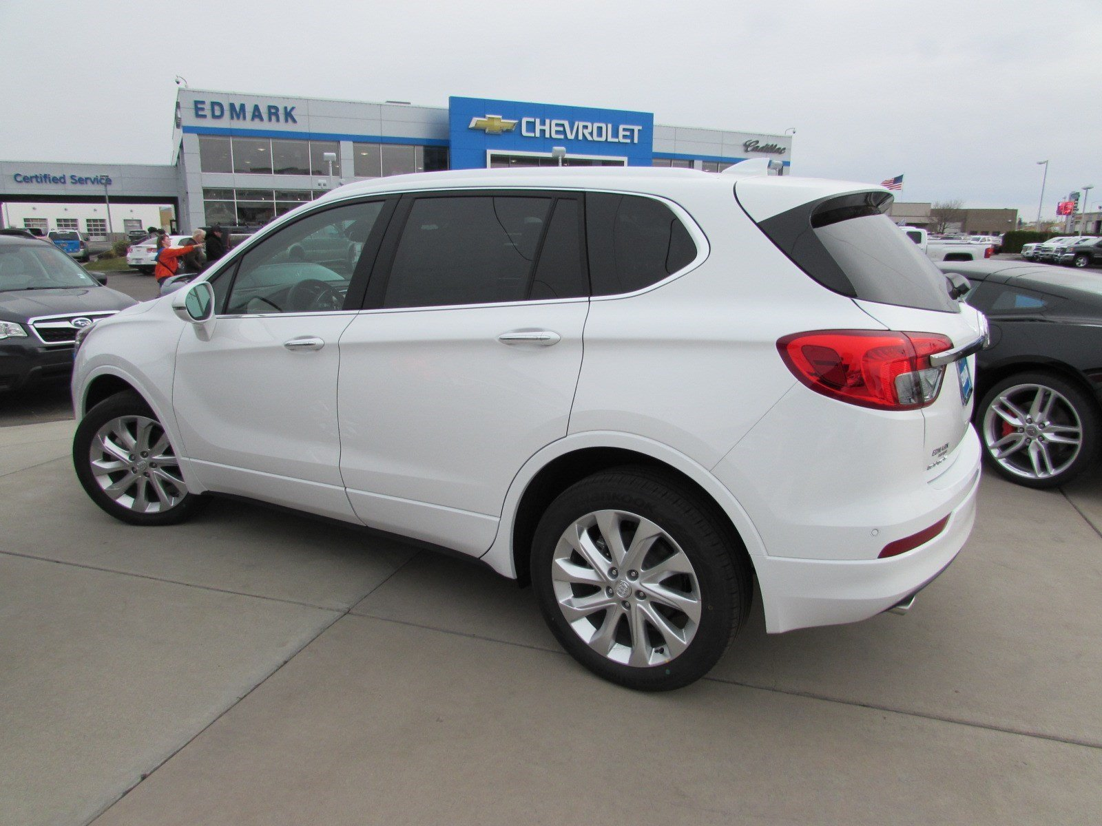 new 2017 buick envision premium ii in nampa 67009 kendall at the idaho center auto mall. Black Bedroom Furniture Sets. Home Design Ideas